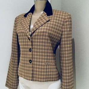 BURBERRY LONDON WOOL CASUAL JACKET